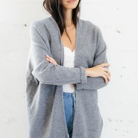 Juliette Cardigan - Heather Gray