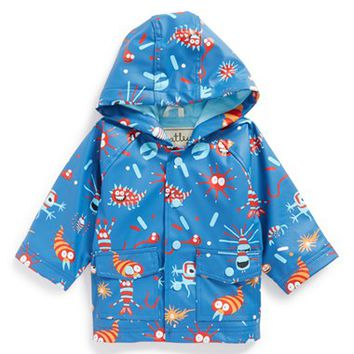 Boy's Hatley Microscopic Creatures Waterproof