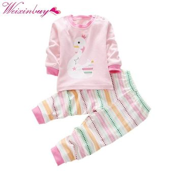 Kids clothes Spring toddler boy clothing set Long sleeve Top+Pants 2pcs suits boutique girls clothing Casual Tracksuit set