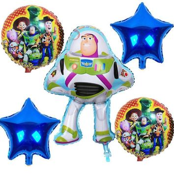 TOY'S STORY BALLOONS-Buzz Lightyear Party Balloons, Toy Story and Friends Balloon, Toy Story Party Supplies, Spaceman Balloon