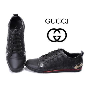 GUCCI Women Men Flats Sneakers Sport Shoes-3