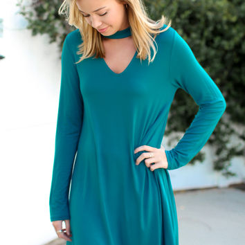 Remember You Dress - Teal