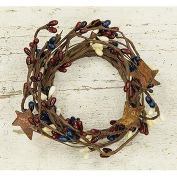 """2"""" Country Mix Ring w/Stars"""