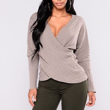 Cozy Love Sweater - Heather Grey