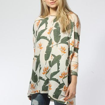 Birds of Paradise Floaty Tunic