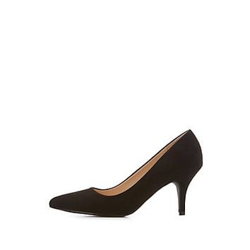 Qupid Pointed Toe Pumps | Charlotte Russe