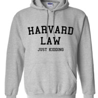 Harvard Law... Just Kidding Hoodie