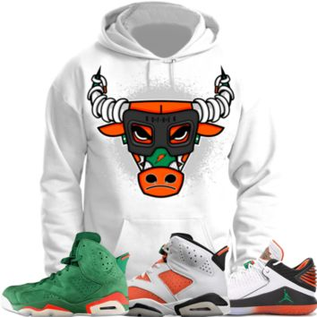Jordan 6 Gatorade Sneaker Hoodie to Match - BULLY