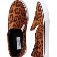 Leopard Deck Shoe