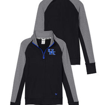 University of Kentucky Ultimate Half-Zip - PINK - Victoria's Secret