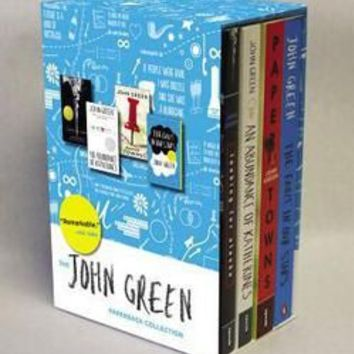 John Green Box Set by John Green (Paperback): Booksamillion.com: Books
