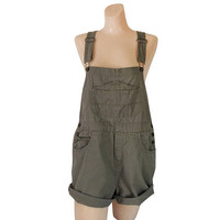 Women Overall Shorts 90s Overall Shortall Women Cotton Overall Short Dungarees Salopette Femme Over Alls Bib Overall Shorts Romper Shorts