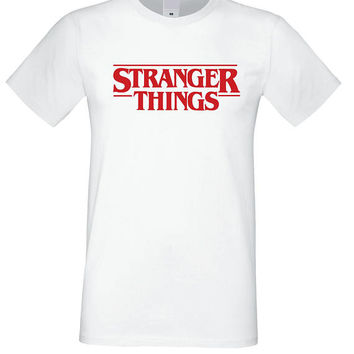 Stranger Things Shirt, The upside down Tshirt, Netflix Shirt, Hawkins middle school t shirt, Stranger Things Tshirt, Tv Series Tees Cotton