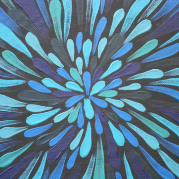 Australian Aboriginal Inspired Painting by Acires on Etsy