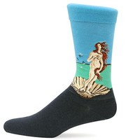 Hot Sox Collection Birth Of Venus Trouser Sock for Men