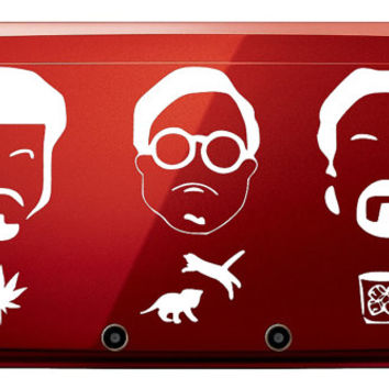 Trailer Park Boys Ricky, Bubbles, and Julian 3DS Vinyl Decal