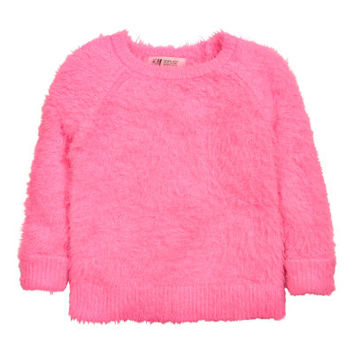 Fluffy Sweater - from H&M