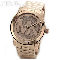 NEW MK WATCH WOMENS MENS WATCHES CRYSTAL GOLD 4 COLOR