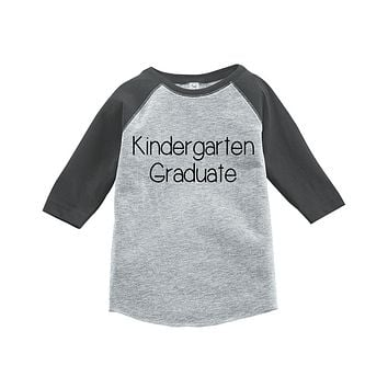 Custom Party Shop Kids Kindergarten Graduate School Raglan Tee