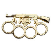 Gold Finished AK47 Paper Weight PK2448GD