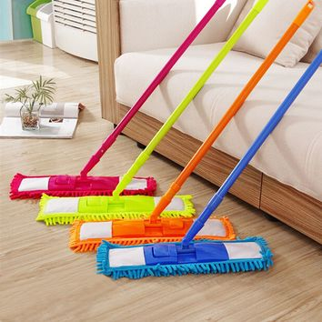 360 Spin Extendable Microfibre Floor Mop Cleaner Sweeper Home Cleaning Supply