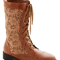 ModCloth Cinnamon Grin Boot