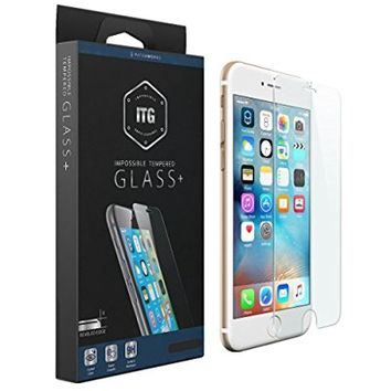 "Patchworks® ITG PLUS for Apple iPhone 6s Plus 6 Plus - ""Made in Japan"" soda-lime glass, Finished in Korea, Impossible Tempered Glass Screen Protector"