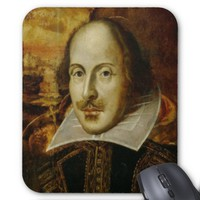 Willaim Shakespeare Mouse Pad