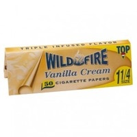 Top Wildfire - Vanilla Cream Regular Size Rolling Papers - Single Pack - Flavored Papers - Rolling Papers & Blunts - Rolling Accessories - Grasscity.com