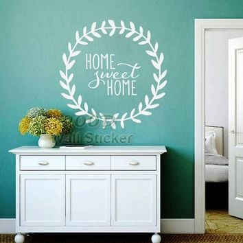 Sweet Home Quote Wall Stickers