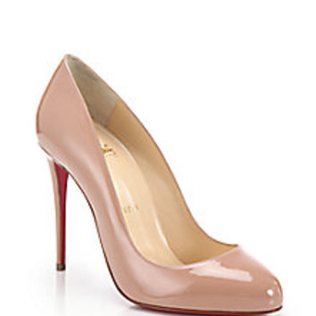 Christian Louboutin - Dorissima Patent Leather Pumps - Saks Fifth Avenue Mobile