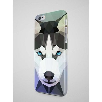 Geometric Husky iPhone 7 Case iPhone 8 Case Samsung Galaxy S8 Case iPhone 8 Plus Case iPhone SE Case iPhone 7 Plus Case Huawei P10 Case