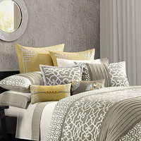 N Natori Bedding, Fretwork Comforter Sets - Bedding Collections - Bed & Bath - Macy's