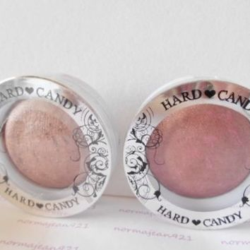 Lot of 2 Hard Candy Blush Crush Baked Blush #128 Bombshell + #126 Pinup - Sealed
