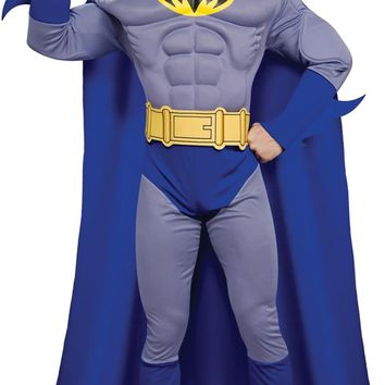 Batman Brave Dlx/muscle Large awesome comics costume