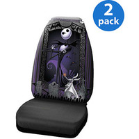 Walmart: Nightmare Before Christmas Graveyard Seat Cover, 2 Pack
