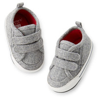 Carter's Wool Sneaker Crib Shoes