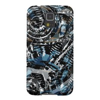 Abstract V-Twin Galaxy S5 Covers