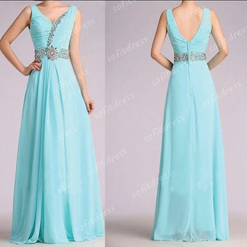 off shoulder prom dresses, tiffany blue prom dress, long prom dresses, la femme prom dress, blue bridesmaid dress, evening dresses, BE0503