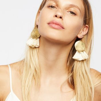 Free People Lunar Rays Tassel Earrings