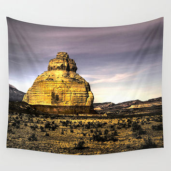Landscape tapestry, purple tapestry, landscape wall art, photo tapestry, wall hanging,rustic decor, oversized art,outdoor tapestry, Colorado