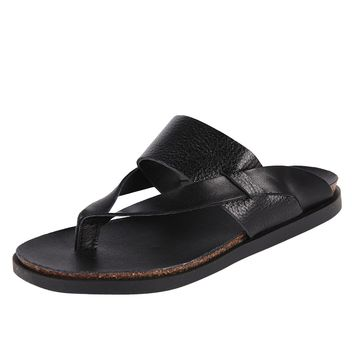LiliMill Leather Thong Sandal