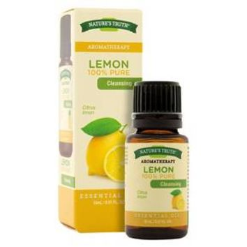 Nature's Truth Aromatherapy Lemon Essential Oil - 15 mL