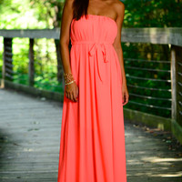 Soft Breeze Maxi, Neon Pink