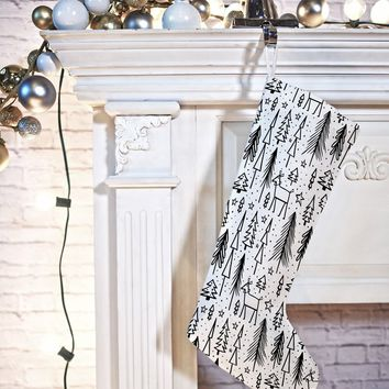 Heather Dutton Winter Wonderland White Stocking