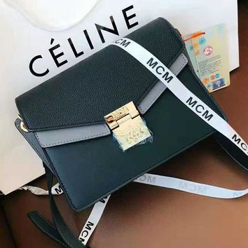 MCM High Quality Hot Sale Stylish Women Shopping Bag Leather Shoulder Bag Crossbody Satchel