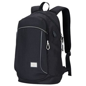 University College Backpack Fashion   for Men Laptop  with USB Charging Port Softback School Bags for Women 2018AT_63_4