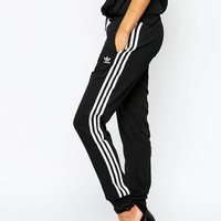 adidas Originals 3 Stripe Cuffed Sweat Pants