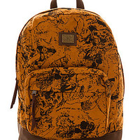 Obey The Wolf Pack Backpack in Cathay Spice : Karmaloop.com - Global Concrete Culture