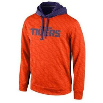 Clemson Tigers Nike Therma-Fit sweatshirt NWT NCAA ACC new with tags Death Valley